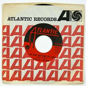 CARLA-THOMAS-I-039-ve-Got-No-Time-To-Lose-A-Boy-Named-Tom-7IN-1964-SOUL-VG
