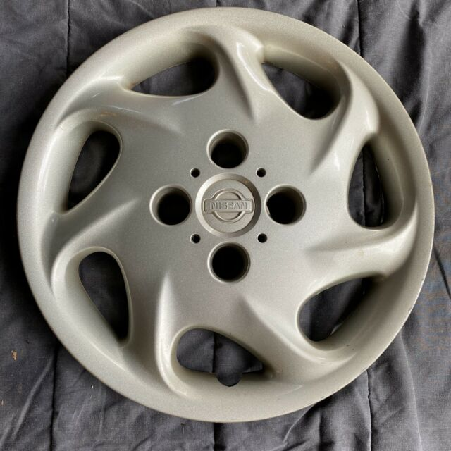 "1 Used Nissan Altima Hubcap Wheel Cover Hub Cap 1998 1999 15"" OEM 40315-9E002"