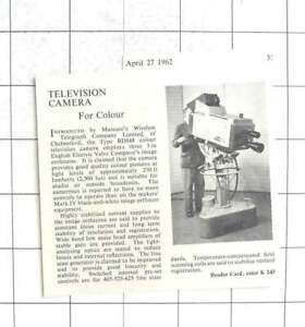 1962-Marconi-Chelmsford-Introduce-New-Colour-Television-Camera