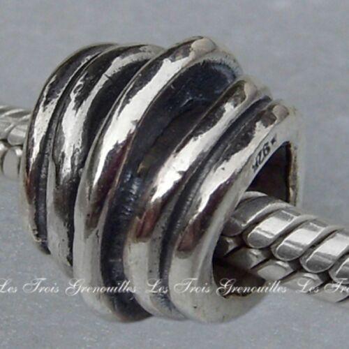 Lovelinks Bead Sterling Silver 5 Ring Spacer Jewelry Charm Jewelry TT051