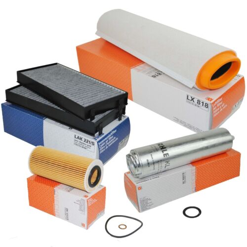 KNECHT Inspektionspaket Filterset BMW X5 E70 3,0D 211PS 235PS MAHLE