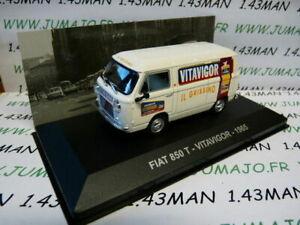 PIT38D-1-43-IXO-Altaya-Vehicules-d-039-epoque-ITALIE-FIAT-850-T-Vitavigor-1965
