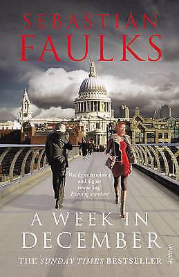 1 of 1 - Very Good, A Week in December, Faulks, Sebastian, Book