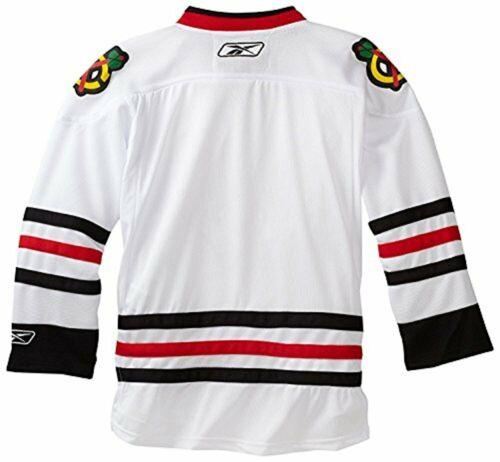 Reebok NHL Youth Chicago Blackhawks White Premier Jersey