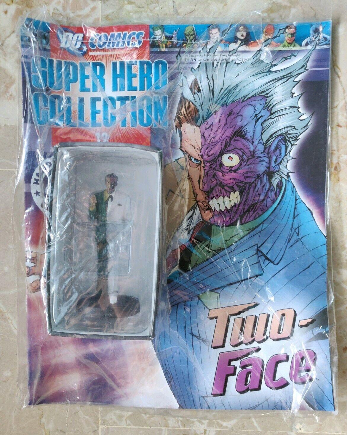 DC COMICS SUPER HERO COLLECTION SIGILLATO 12 TWO FACEVERS.  INGLESE EAGLEMOSS  online economico