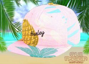 NEU-Hurley-Seaward-Tropical-Print-Herren-Snapback-Cap-Muetze