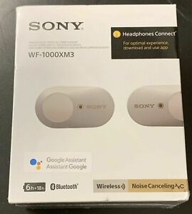 Sony WF-1000XM3 Industry Leading Noise Canceling Truly Wireless Earbuds NEW