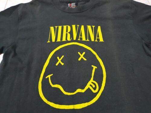 Vintage 1992 Nirvana Smile Tshirt size M  / smiley