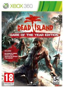 Xbox-360-DEAD-ISLAND-GIOCO-DELL-039-ANNO-EDIZIONE-Nuovo-e-Sigillato-UFFICIALE-STOCK-Regno-Unito