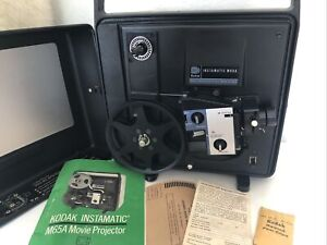 Vintage Retro MCM KODAK INSTAMATIC M65A Working Movie Projector Tested With Film