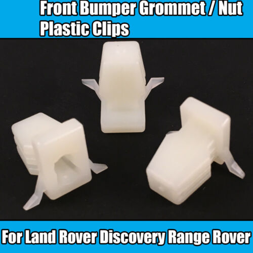 10x Clips For Land Rover Discovery Range Rover Front Bumper Plastic Grommet Nut
