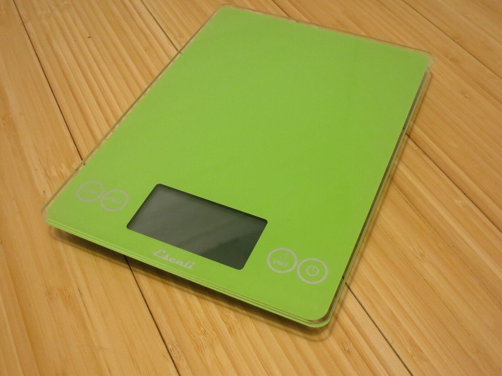 Escali Arti Liquid/Dry Weighing Multifunctional Scale 157LG Green 15 Lbs/7 Kg
