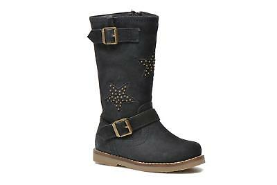 I Love Shoes KEIRINS Zip-up Boots in Blue Childrens UK 8.5 EU 26 CH07 22