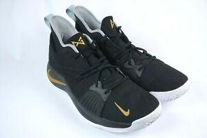 Nike ID Paul George PG 2 Black Gold