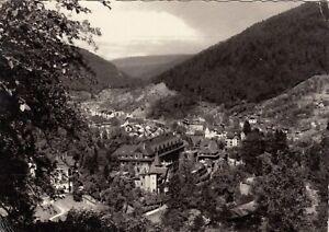 Wildbad Im Schwarzwald Ansichtskarte 1958 Gelaufen