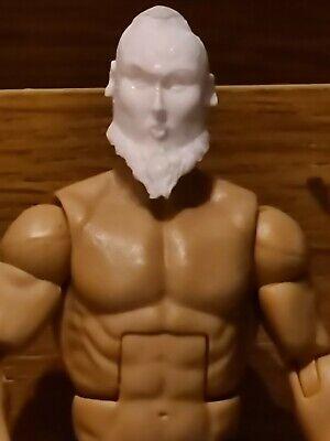 WWE Mattel 3D Printed Custom Head cast Mattel Jakks Owen Hart Figure fodder