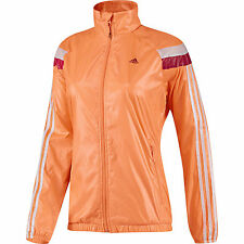 Adidas Anthem Windbreaker jacket Glow Orange [D87871] size large