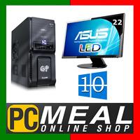 Intel Core I5 7500 3.4ghz Desktop Computer 1tb 8gb 22 Led Win 10 Hdmi Gaming Pc