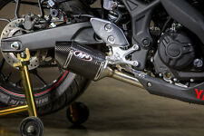 15-16 Yamaha R3 M4 Street Slayer Carbon Fiber Slip On Exhaust YA3014