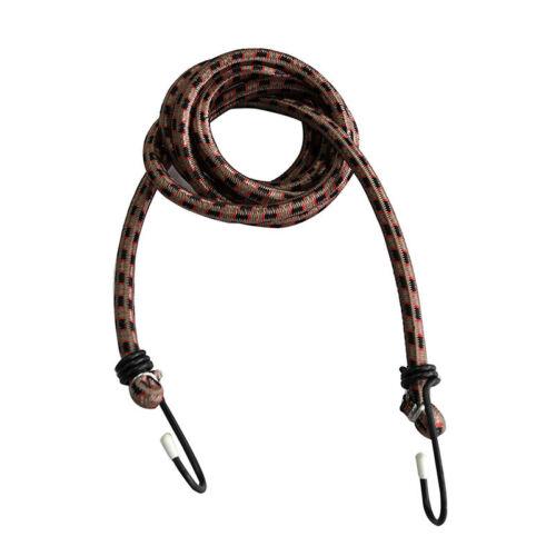 Elastic Bungee Cords Hooks Bikes Rope Tie Luggage Car Strap Roof Rack 1.5m P/_ES