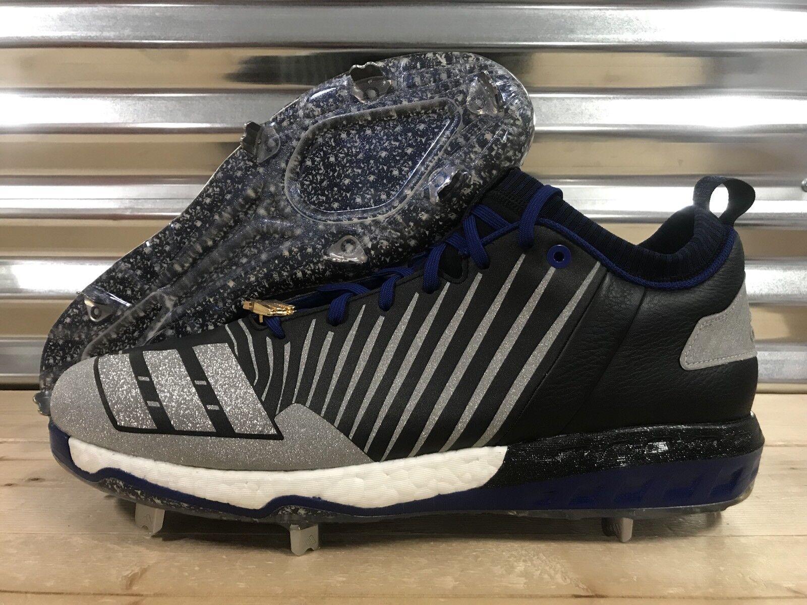 Adidas Boost Icon 3.0 Legend Pack Sample Baseball Cleats Black SZ 14 ( CG4859 )