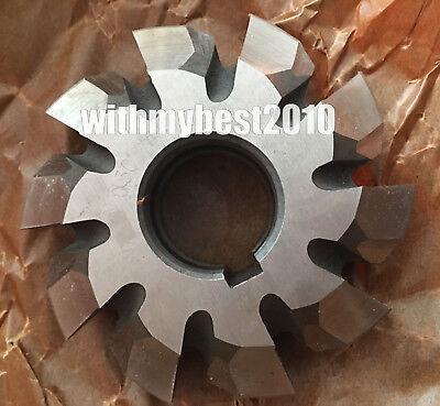 Lot 1pcs HSS M4 20 degree #7 Cutting Range 55-134 Teeth Involute Gear Cutter