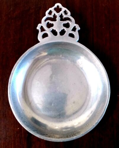 Vintage Bowl Pewter Coin Dish Signed Number 5307 Rare