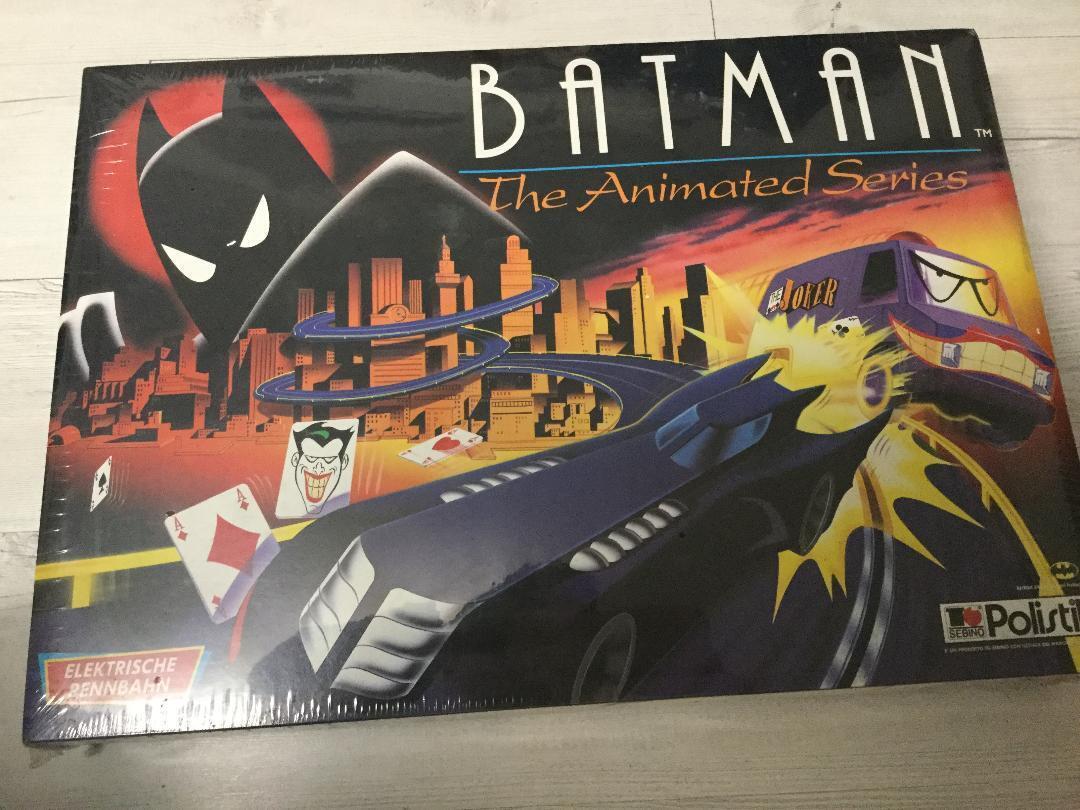 Polistil 1994 Batman Animated Rennbahn - Slot Car Racing Folie wie neu Arerrac
