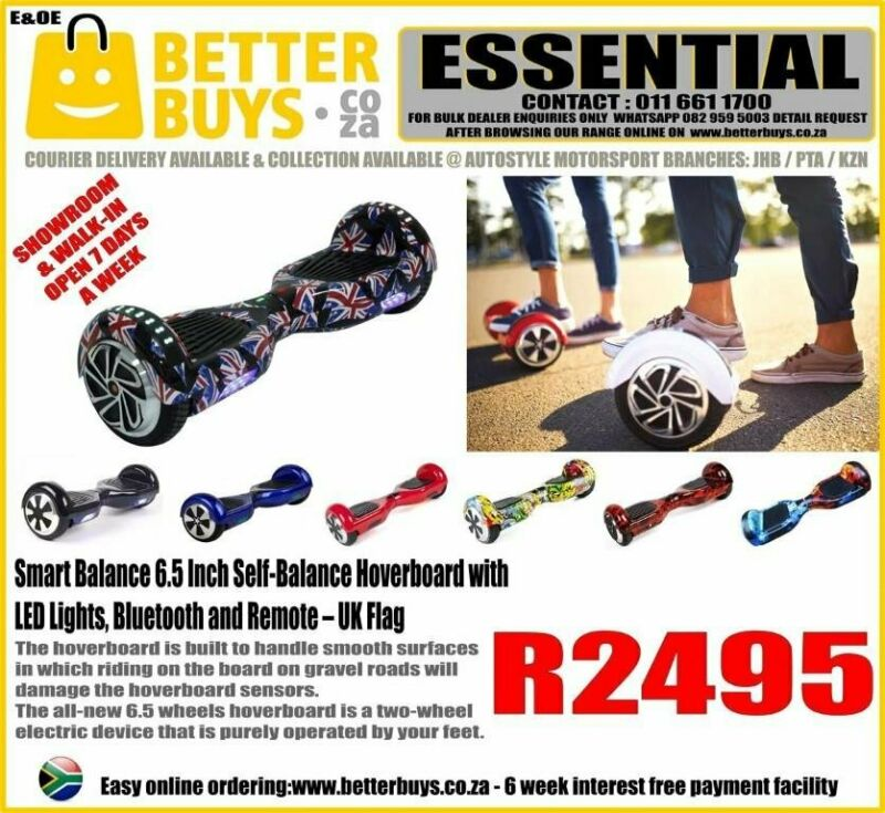 Smart Balance 6.5 Inch Self-Balance Hoverboard with LED Lights, Bluetooth and Remote R2495  The hove