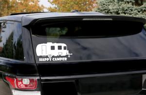 Caravane Happy Camper Autocollant Drôle Autocollant camping TOURING VW