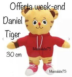 Daniel Tiger Tiger 30cm Plush, Toy, Toy, Plush, Cartoon, TV | eBay