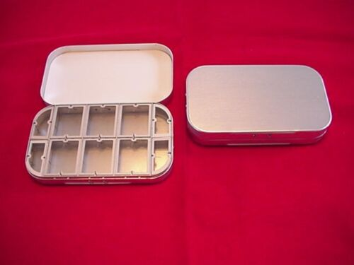 North West Classic Tackle Aluminum 10 Compartment Dry Fly Box GREAT NEW