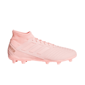 Adidas-Men-039-s-Predator-18-3-FG-Soccer-Cleats-Clear-Orange-Trace-Pink-DB2002