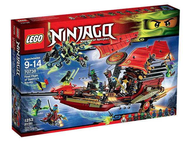 Lego - 70738 ninjago letzter flug von destiny 's bounty neu versiegelt