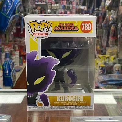 POP PROTECTOR Details about  /FUNKO POP MY HERO ACADEMIA KUROGIRI #789 VINYL FIGURE