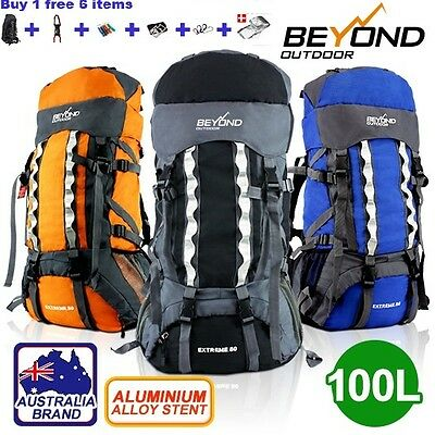 100L Camping Hiking Travel Backpack RUCKSACK Water proof Backpack *NEW ARRIVAL*