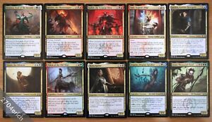 10x-Ravnica-Legendary-Rare-Mythic-Gold-Creatures-NM-Magic-MTG-Commander-EDH