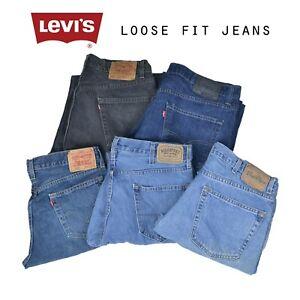 LEVIS-LOOSE-FIT-JEANS-DENIM-GRADE-A-W30-W32-W34-W36-W38-W40