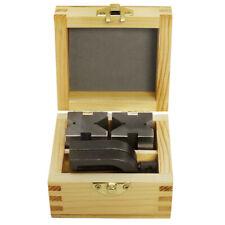 1 58 X 1 14 X 1 14 Precision V Blocks Amp Clamp Set Steel Gauge Machinist