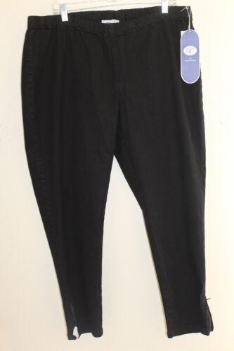 2xp sz Gilman droit noir jean Diane pantalon denim Nwt slim pantalon qwfOBCn