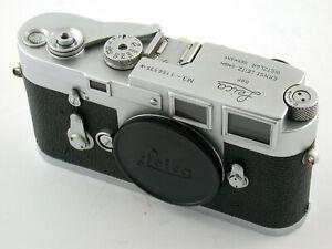 LEICA-M-3-M3-body-Gehause-1156535-039-66-superclassic-rangefinder-SERVICED-UBERHOLT