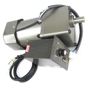 60W-90W-120W-Single-phase-speed-regulating-motor-AC220V-metal-gear-geared-motor
