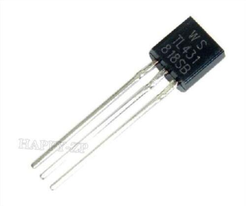 30Pcs TL431ACL TL431 Detendeur De Precision Shunt TO-92 po