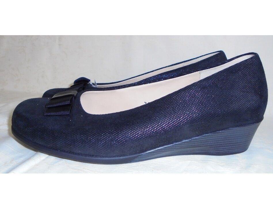 47afdea2b41 Zapatos zapatos señora zapato bajo pumps negro de cuero bosque alfil (42) W  K 5dec55 - lasaludemihijo.es