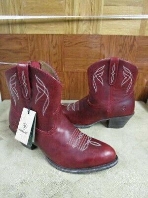 Details about  /Ariat Women/'s Zip-Up Bootie~Darlin~10017323 Short 7-inch Shaft Burnt Sugar $150