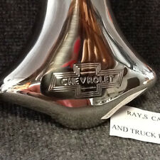 NEW SINGLE STAINLESS STEEL EXHAUST SCRIPT TIP FOR THE 39 40 41 CHEVROLET !