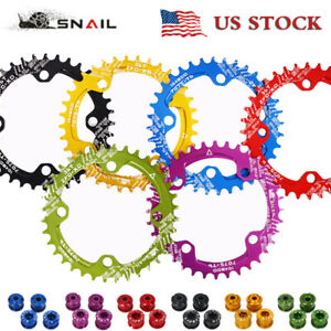 32-42t-104BCD-Narrow-Wide-Cycling-Chainring-MTB-Bike-Crankset-Chainring-Sprocket