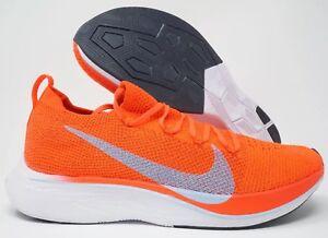 7944dbd1efd Nike Vaporfly 4% Flyknit Running Shoe Bright Crimson Ice Blue Size ...