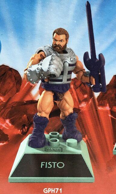 Mega Construx Masters Of The Universe — Fisto (GPH71) — Free Shipping