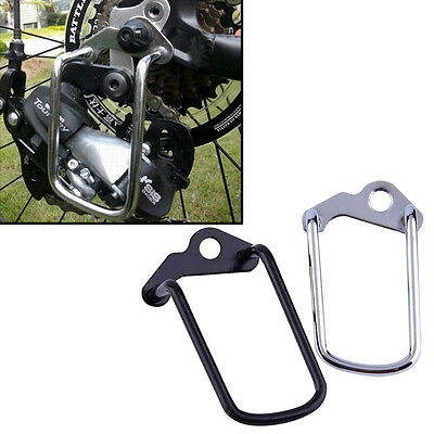Cycling Bike Aluminum Bicycle Rear Gear Derailleur Chain Stay Guard Protector EW